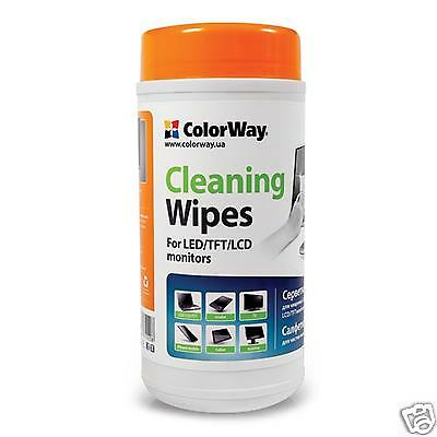 ColorWay Cleaning Wipes for Desktop and Laptop LCD / TFT Screens 100 sheets