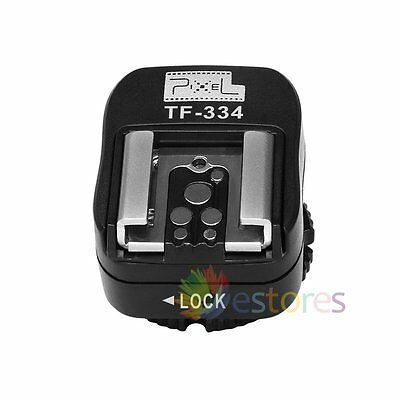 Pixel TF-334 Hot Shoe Converter Adapter For Sony Camera to Use Canon Nikon Flash