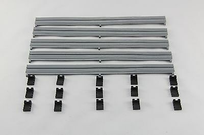 Scalextric Accessories - C8212 - Barriers And Clips