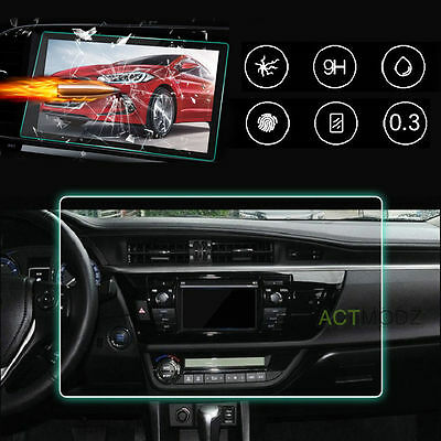Car Navigation GPS Transparent Screen Protectors Tempered Glass Protective Film