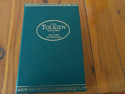 The Lord Of The Rings & The Hobbit - J R R Tolkien - Boxed Set