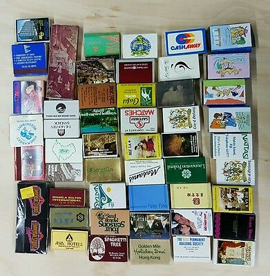 Mixed lot of matchboxes