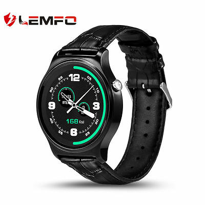 Lemfo GW01 Bluetooth Wireless Sport Pedometer Smart Watch Wrist For Android IOS
