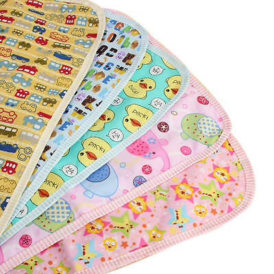 Newborn Baby Infant Diaper Nappy Waterproof Urine Mat Bedding Changing Cover Pad