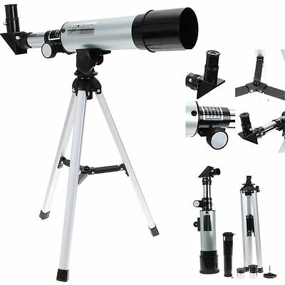 Refractive Monocular Astronomical Telescope Spotting Scope With Portable Tripod#