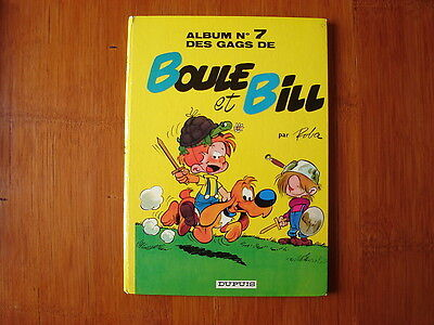 Boule Et Bill Tome 7 En Edition Originale /   Roba