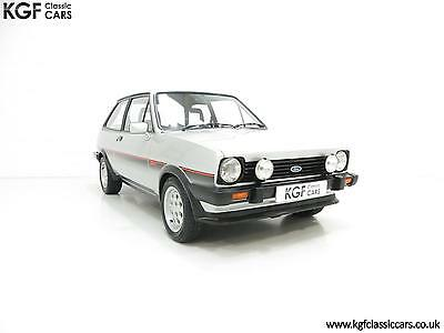 An Iconic Ford Fiesta Mk1 XR2 with just 70,679 Miles.