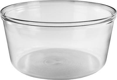 Andrew James Halogen Oven Bowl Glass Spare Replacement For 10-17L Halogen Ovens