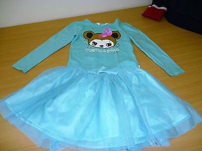 Girls Top and Skirt Set Age 4-5