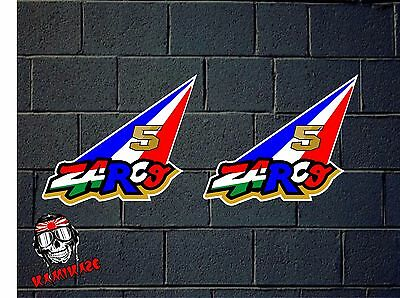 Pegatina Sticker  Adesivi Aufkleber Decal 2X Johann Zarco Flag France 5