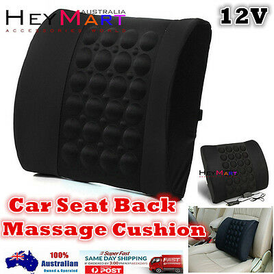 Car Massage Back Cushion Car Seat Back Cushion Back Pillow Lumbar Back Support