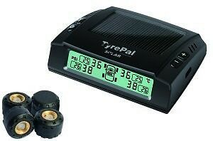TyrePal Solar 4+ Tyre Pressure Monitoring System TPMS with 4 high range sensors