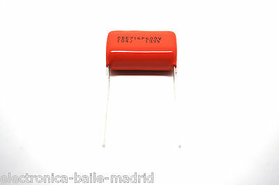 SPRAGUE ORANGE DROP 716P 0.1uf .1uf 600V FOR AMPLIFIER - VINTAGE FENDER