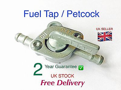 1x Fuel Tap Petcock ( 6mm inline )  Quad, Dirt Bike, ATV, Buggy, Motorbike
