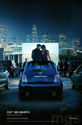 Fiat 4-page clipping Mar 2015 Drive-In Theaters in the US