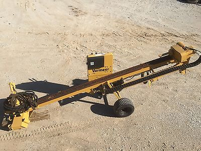 Early D7 Vermeer Directional Machine / with 15 Rods