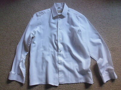 "Showing Selection Child's Competition Show Shirt cream size 11 1/2"" age 5-6 appr"