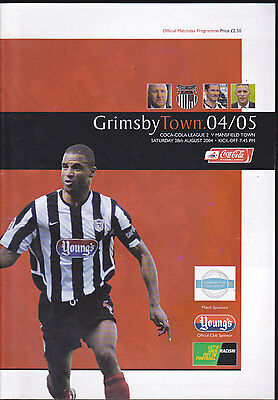 2004/05 GRIMSBY TOWN V MANSFIELD TOWN 28-08-2004 League 2