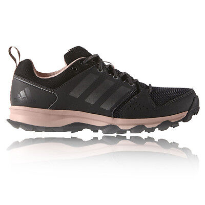 Adidas Galaxy Womens Pink Black Cushioned Running Road Sports Shoes Trainers