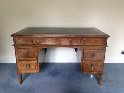 Leather top Italian wooden desk  offers considered