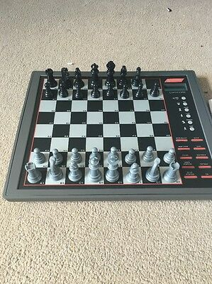 Capricorn 2 In 1 Electronic Chess + Draughts Computer Game