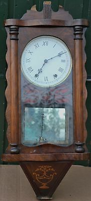 Old Large Wooden Wall Clock To Restore