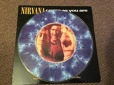 """Nirvana - Come As You Are - 12"""" PICTURE VINYL"""