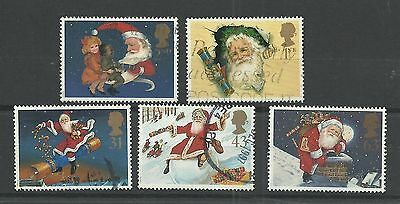 GB 1997  Christmas - 150th Anniversary of the Christmas Cracker   fine used set