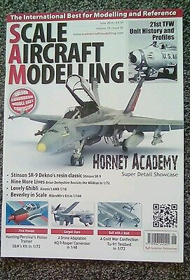 Scale aircraft modelling magazine June 2016