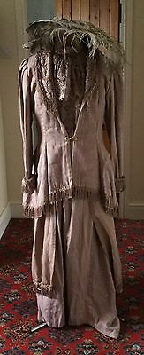 Ladies Edwardian Style Three Piece Walking Costume Theatrical Stage Dress