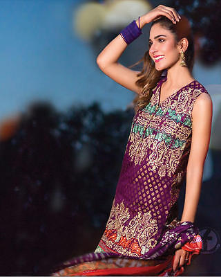 New Ladies Designer FIRDOUS 3 Piece suit Unstitched Pakistani Asian