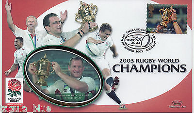 "2003 ""Rugby World Champions"" Benham First Day Cover"