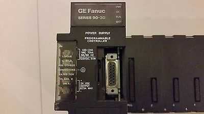 Ge Fanuc 90-30 Ic693Pwr321P Power Supply With Ic693Chs391D Base 10-Slot