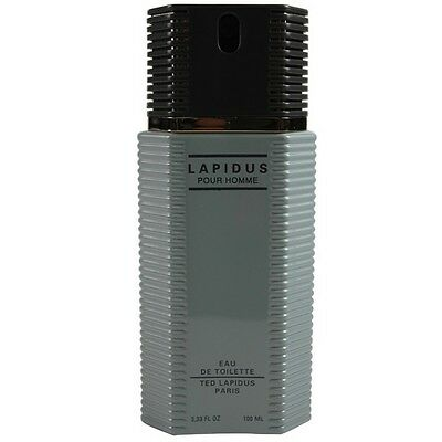 Lapidus Pour Homme by Ted Lapidus EDT Cologne Spray 3.3 oz.-Unboxed NEW