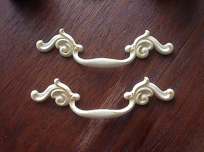 496 VTG French Provincial Handles In Ivory Wash 2 Available