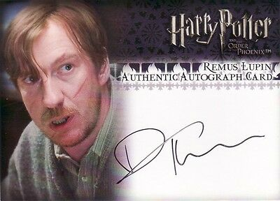 Harry Potter Order of the Phoenix Update David Thewlis as Remus Lupin Auto Card