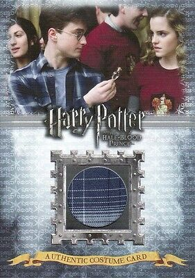 Harry Potter Half Blood Prince Update Harry Potters C9 Costume Card