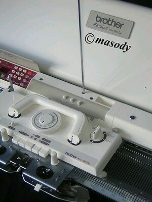 Brother electronic knitting machine kh 950i + kr 850 ribber package serviced