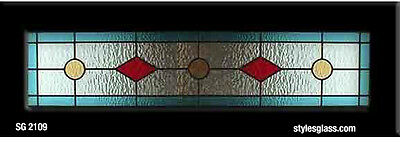 "Stained glass tradition  window  10"" x 36""   wow"
