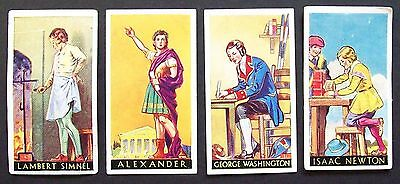 Cigarette Cards: Full set of Godfrey Philips, 1936, FAMOUS MINORS