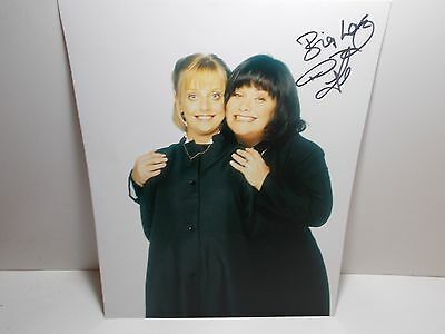 Autographed Photograph Dawn French Vicar Of Dibley Big Love