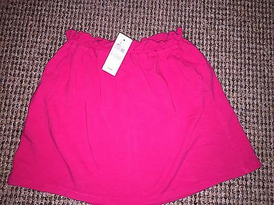 BNWT Gap Dark Pink Raspberry Cotton jersey Skirt Age 5