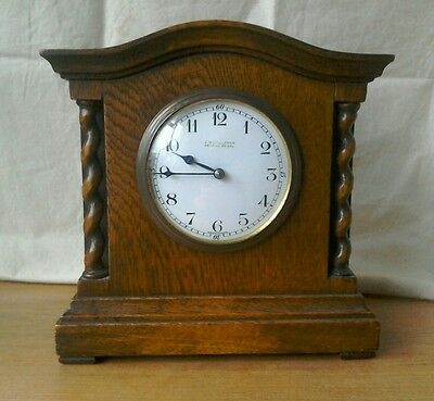 Lovely Antique Mantel Clock. Good Condition. Works Well. 8 Day French Movement.