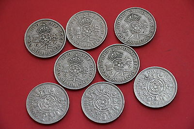 Uk Gb Florin Collection All Different A33 N49