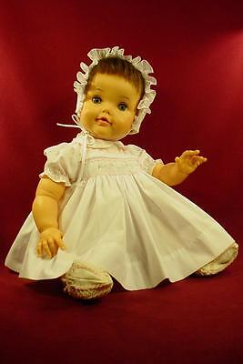 "DARLING VINTAGE 1960s IDEAL 23"" BETSY WETSY BABY DOLL BW-20-F  NICE!"