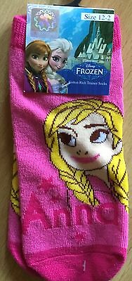 little girls frozen socks, size 12-2 free postage, great stocking filler [anna]
