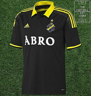 AIK Stockholm Home Shirt -  Official adidas Rare Football Shirt -Mens- All Sizes
