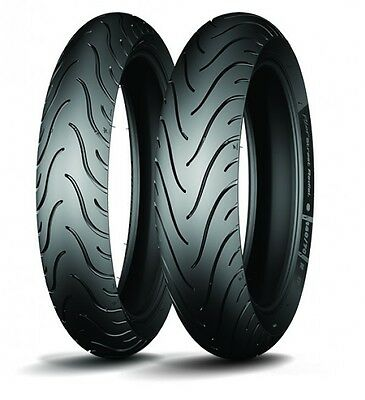 Michelin Pilot Street Radial front & rear tyres 110/70-17 & 140/70-17 combo