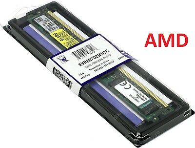 MEMORIA RAM KINGSTON KVR667D2N5/2G 2GIGA PC DESKTOP DDR2 800MHz SOLO AMD!!!!