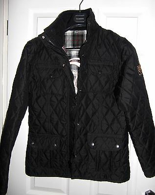 Girls  QUALITY English Quilted Diamond Equestrian Horse Riding Jacket AGE 14